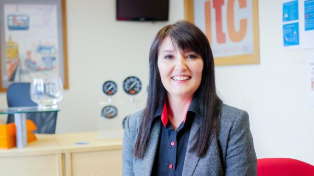 Tracy Clark, Managing Director of ITC Hydraulics, based in Turriff and Inverurie.