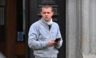 Grant Rennie outside court on Tuesday.