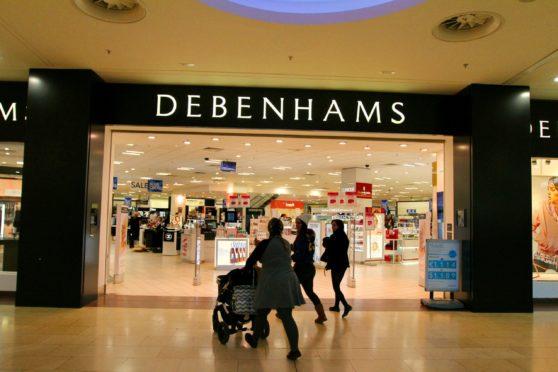 Debenhams at the Overgate. Picture taken prior to Covid-19.