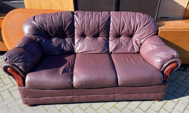 Sofa dumped outside Instant Neighbour