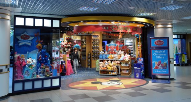 The Disney store is closing.