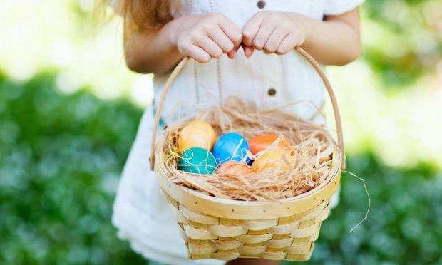 An Easter egg hunt with a difference raised £1,000 for Grampian Autistic Society.