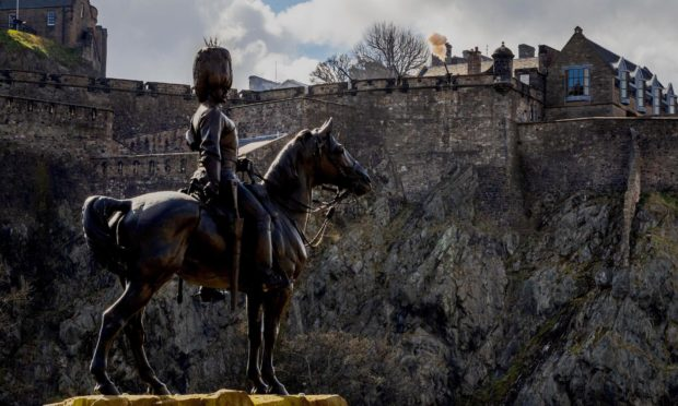 Mr Ross outlined his plan at the Royal Scots Monument in Edinburgh.
