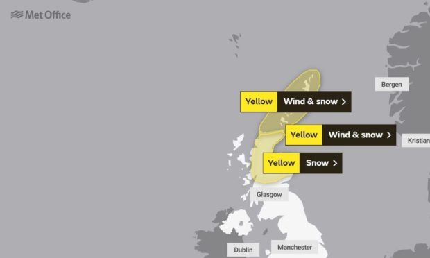 Weather warnings remain in place across the region
