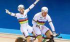 Neil Fachie, left, and pilot Matt Rotherham are preparing for the Paralympics.