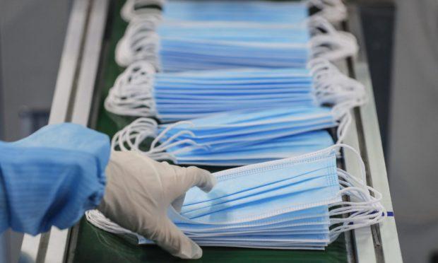 25,000 counterfeit masks were seized
