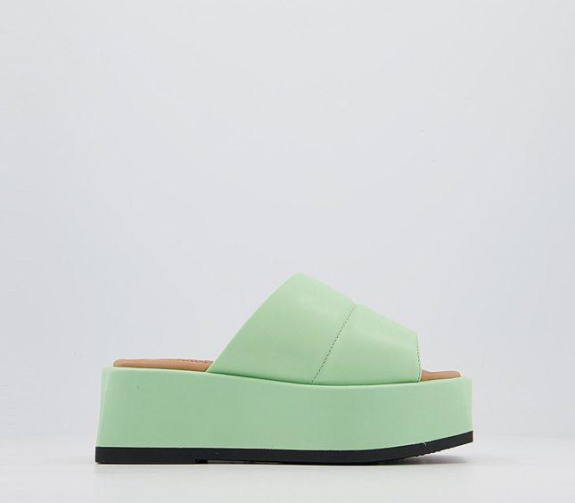Atelier by Vagabond Juno Platform Sandals in Pistachio – OFFICE, £145