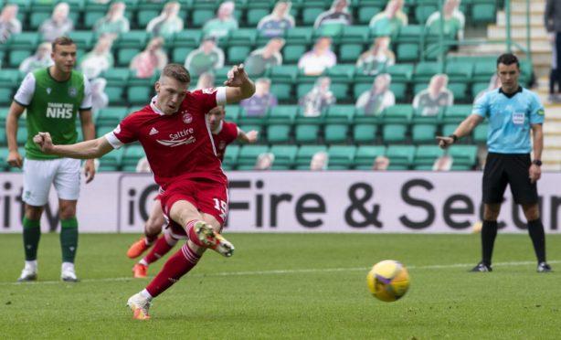 Lewis Ferguson has been a key figure for Aberdeen against Hibernian