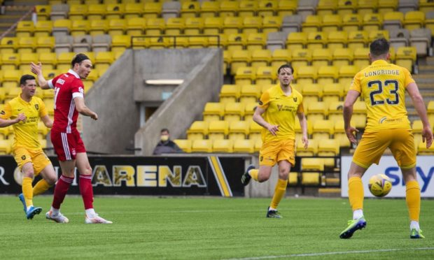 Ryan Hedges scored Aberdeen's second goal at Livingston as Euro qualification is confirmed.