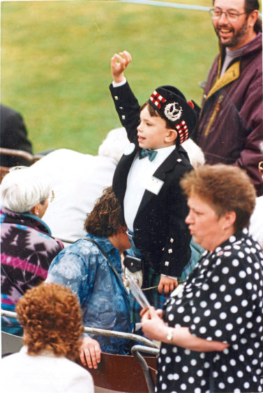 1994: Thousands flocked to Aberdeens Seaton Park for the Gordons farewell Trooping and Colour and from young to old they all agreed there's no finer sight than the North-easts finest.