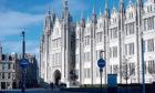 Marischal College, Aberdeen City Council's HQ.