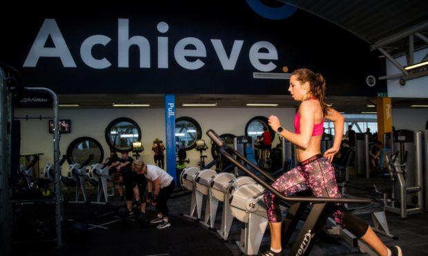 Kelsey Stewart training at Aberdeen Sports Village.