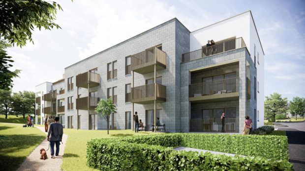 Cala Homes has put in plans for 35 flats in King's Gate in Aberdeen - on the site of the former Forest Grove care home