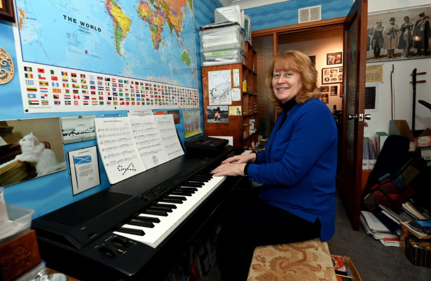 Donna Minto's musical moments have been used by schools across the north-east and further afield.