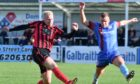 Ryan Spink, right, has joined Formartine United