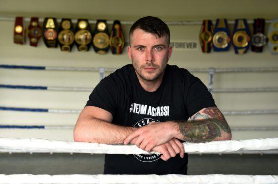 Aberdeen boxer Lee McAllister.