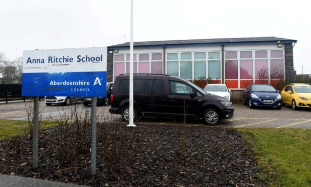 Anna Ritchie School have had ongoing issues with vandalism. Supplied by Darrell Benns.