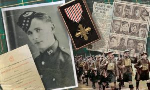 William Greig became a hero in Prague during the Second World War.