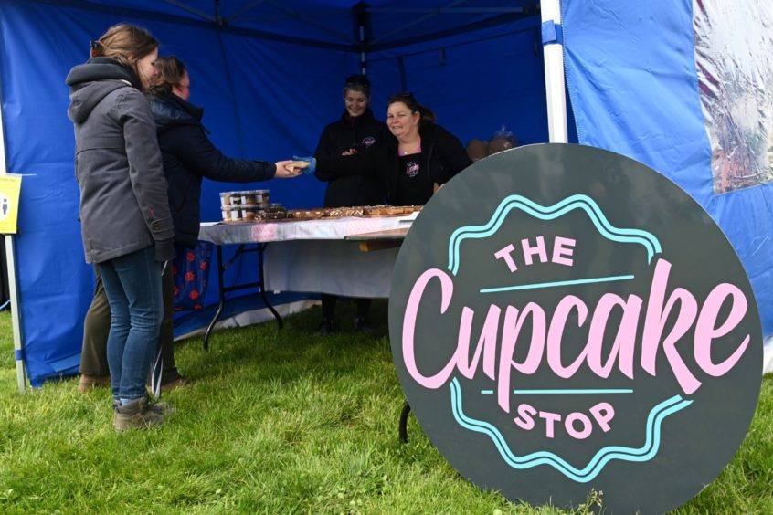 The Cupcake Stop stall