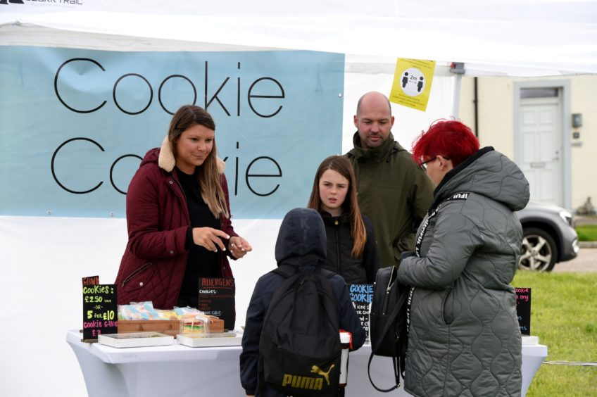 The Cookie Cookie stall