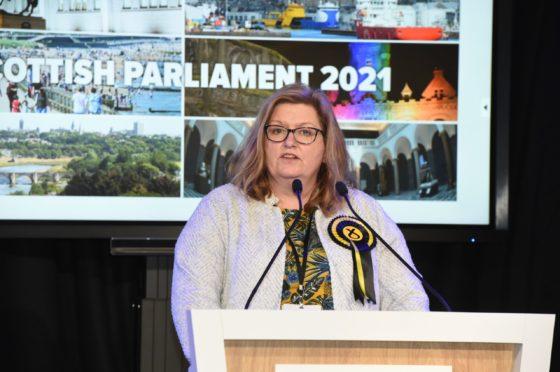 Jackie Dunbar was elected to represent Aberdeen Donside last week.