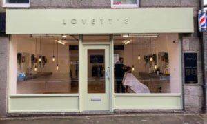 The exterior of Lovett's Aberdeen