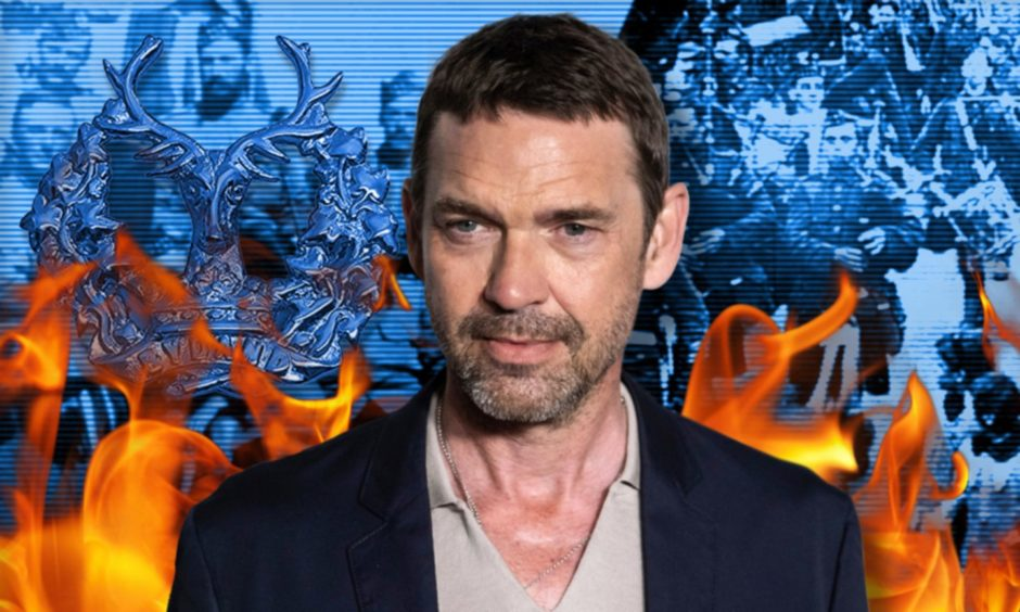 Dougray Scott has close links to the Gordon Highlanders and has been moved by the stories of its many heroes.