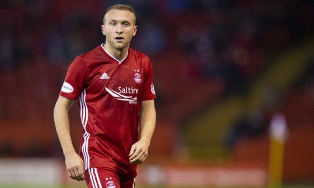 Aberdeen midfielder Dylan McGeouch