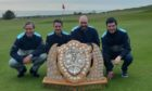 Murcar Links Maitland Shield team: From left, Bryan Innes, Anthony Bews, Terry Mathieson and Corin Stewart.