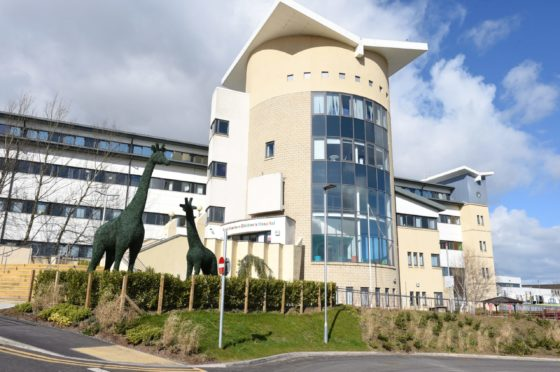 Royal Aberdeen Childrens Hospital   Picture by Paul Glendell