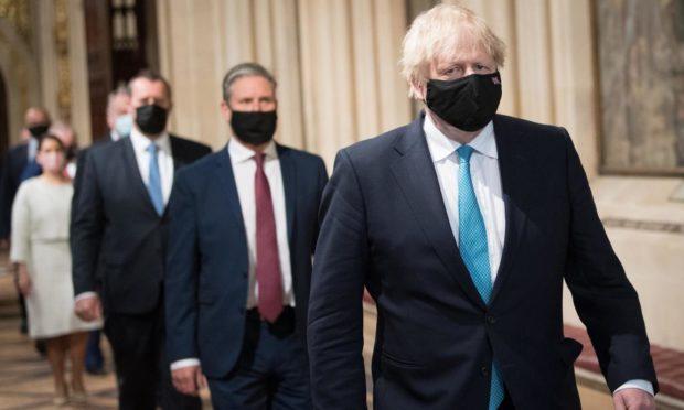 Boris Johnson national recovery