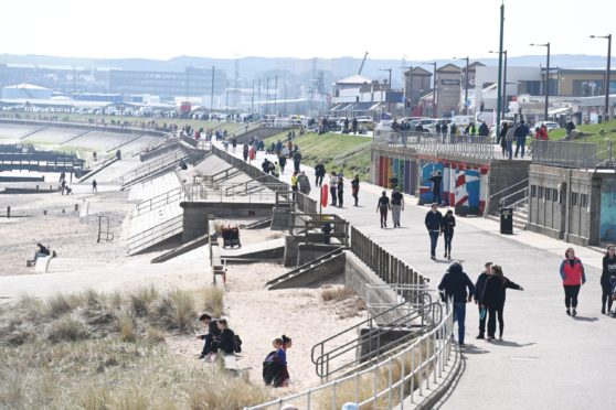 Aberdeen City Council is aiming to revitalise the beach.