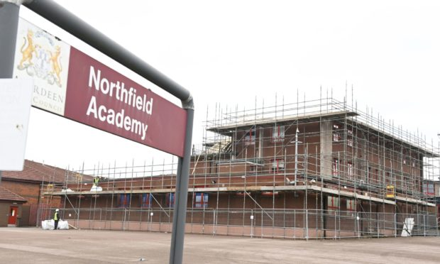 Northfield Academy, Aberdeen. Picture by Paul Glendell.