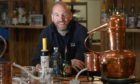 Peter Dignan, the co-owner of Lost Loch Spirits.