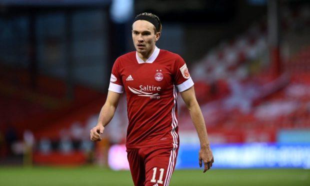 Aberdeen's Welsh international attacker Ryan Hedges.