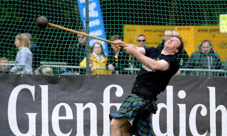 Aberdeen Highland Games at Hazlehead Park. By Kath Flannery.