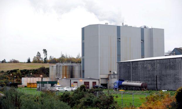 Glenlossie Distillery, near Elgin.