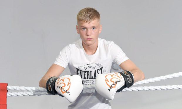 Professional boxer Ben Bartlett.