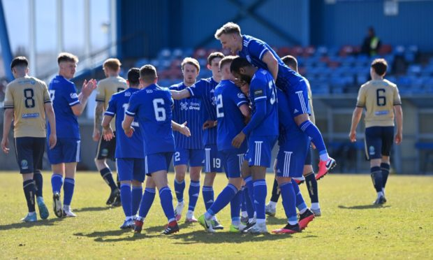 Peterhead finished seventh in League One