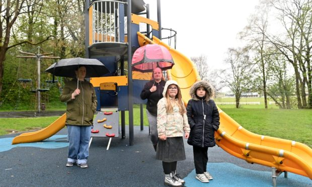 Children and parents were left gutted by the vandalism.