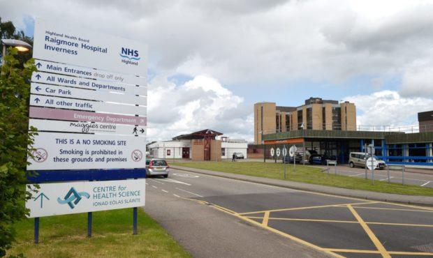 Mark Turner assaulted staff at Raigmore Hospital