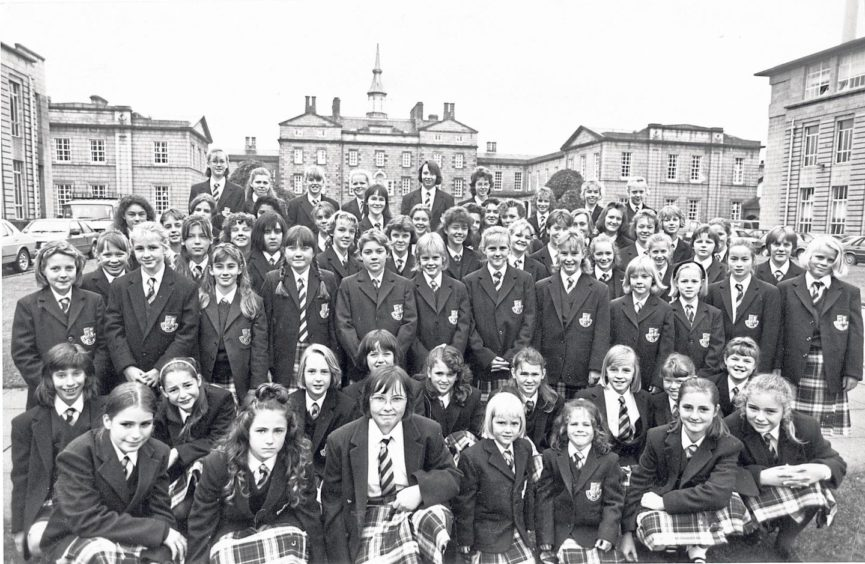 Breaking the 250-year-old all-boy tradition, girls joined the school for the first time