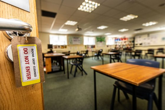 There were more than 100 attacks on school staff in Aberdeen last year.