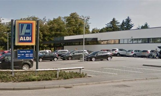 The closure is due to works being done on the ALDI store in Inshes Retail Park