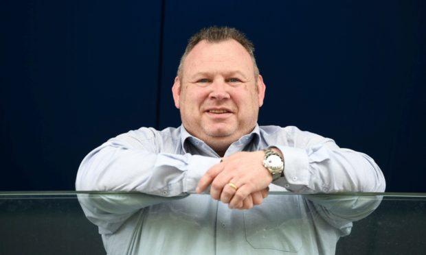 Cove Rangers chairman Keith Moorhouse.