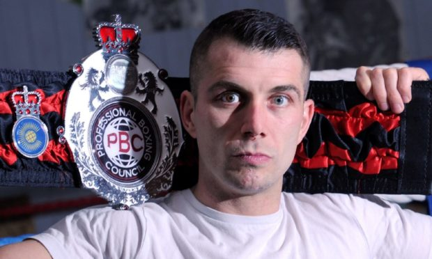Pictured is boxer Lee McAllister ahead of his fight on Friday evening. He is fighting for the PBC (Professional Boxing Council) Commonwealth and International Super Welterweight Titles. Picture by DARRELL BENNS     Pictured on 17/10/2017