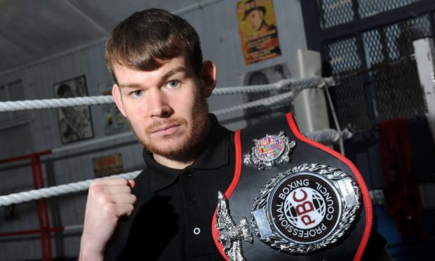 Aberdeen boxer Nathan Beattie