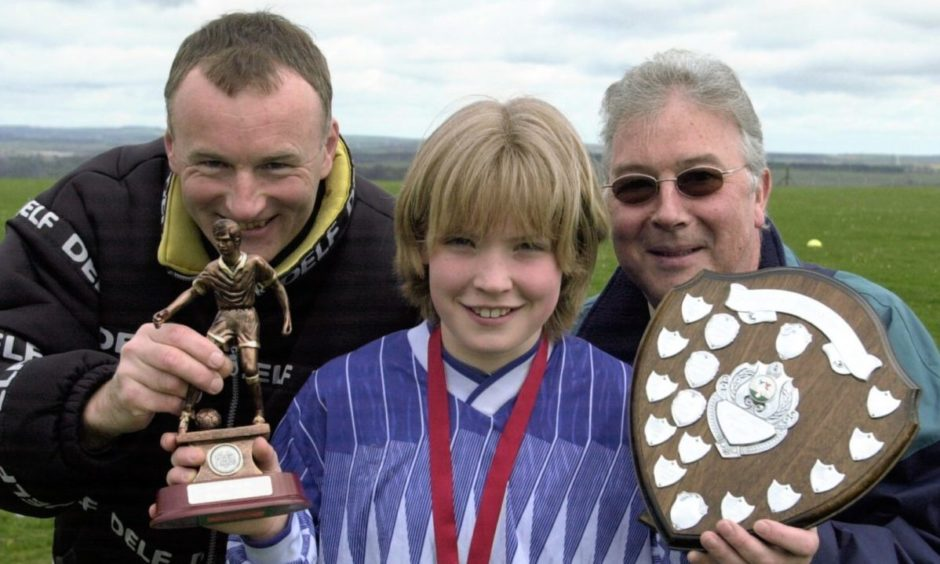 Kim Little was just 13 when she won the Green Final Schools Trophy.
