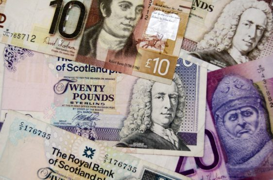 More than half of fines issued at north and north-east sheriff courts have been paid.