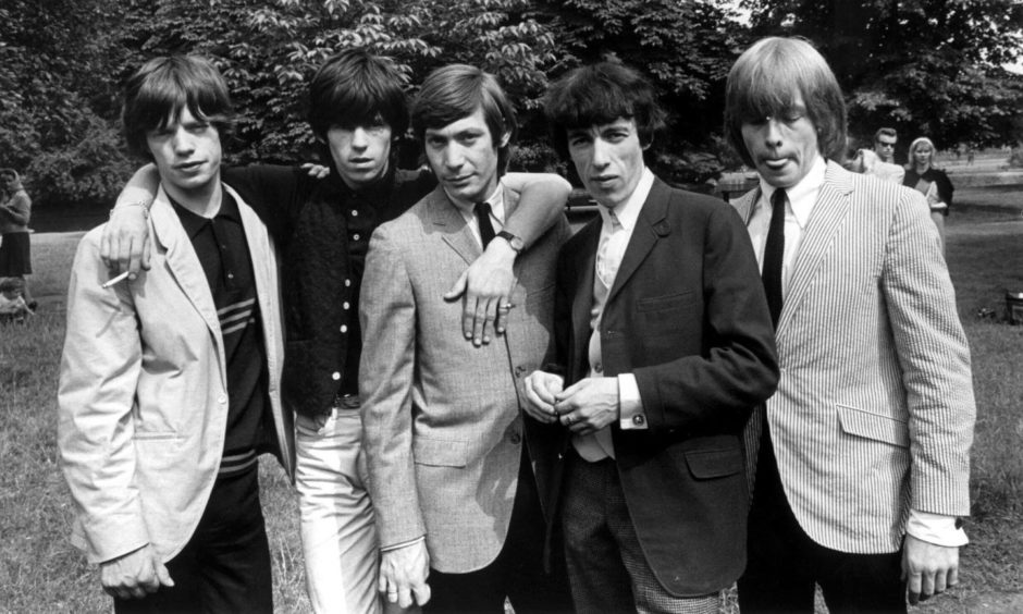 The Aberdeen gig in 1964 was no walk in the park for the Rolling Stones.